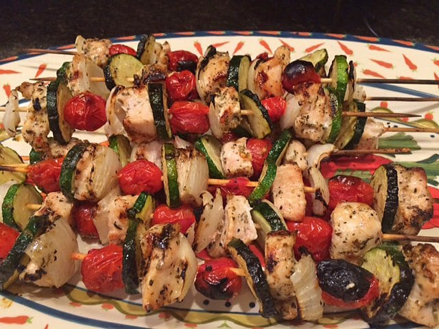 Farm Girl Fresh Italian Chicken Kabobs