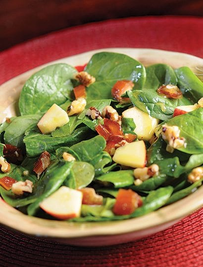 Farm Girl Fresh Apple Spinach Salad