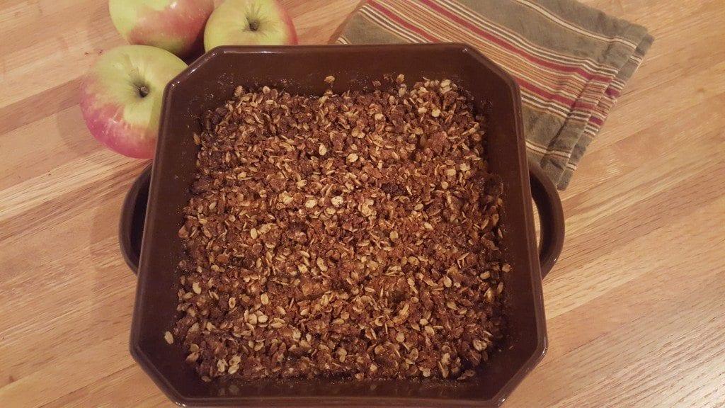 Farm Girl Fresh Grandma's Apple Crisp
