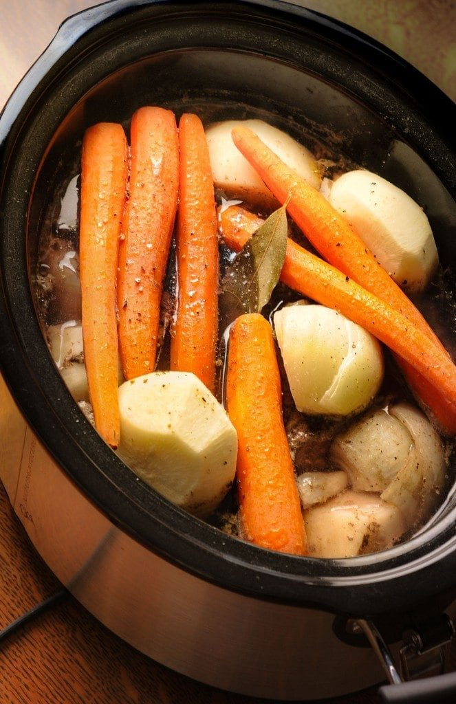 Farm Girl Fresh Pot Roast with Veggies