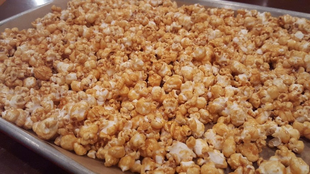 Caramel Corn Drying
