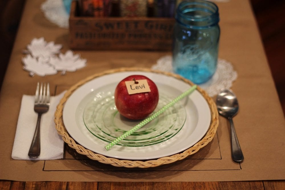 Kids Placesetting