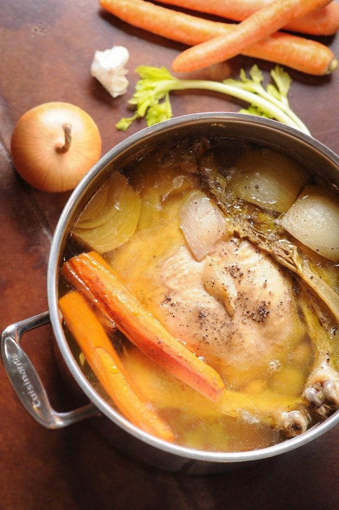 Chicken Stock and Broth