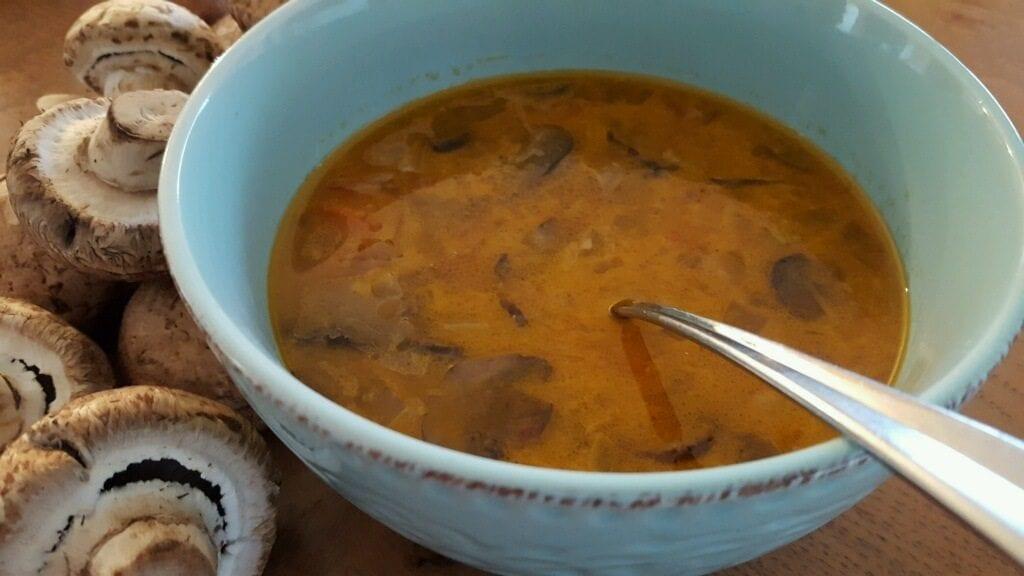 Zesty Mushroom Soup