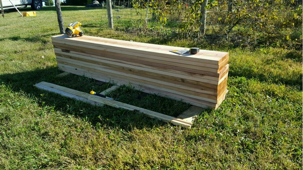 Wood for Raised Beds