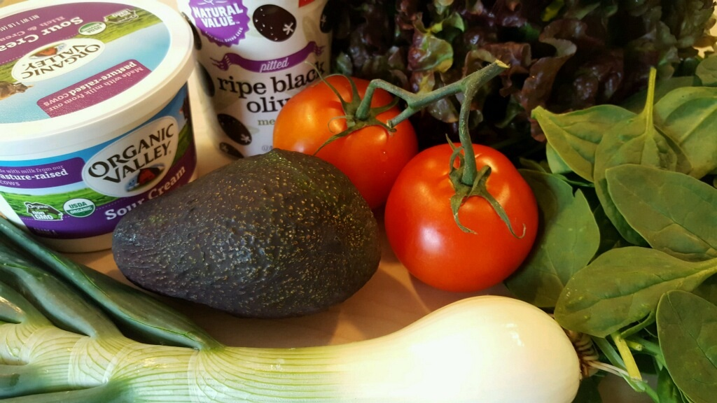 Ingredients for Taco Salad