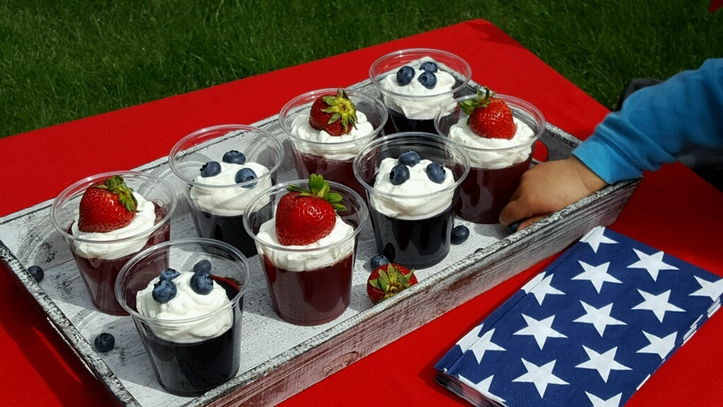 Jello Cups with Kids