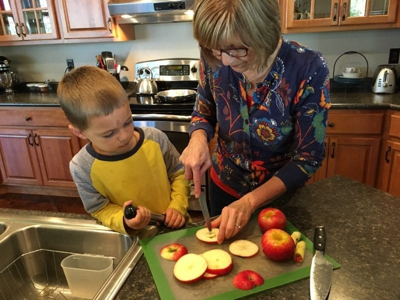 Fried Apple Slices