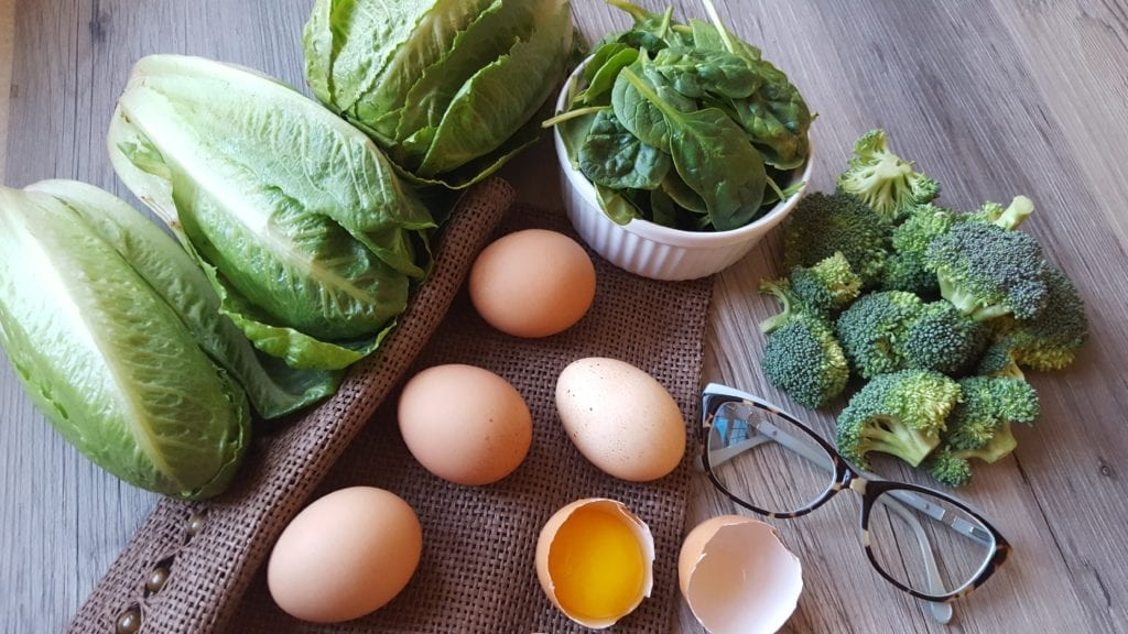 Nutrients Needed for Eye Health