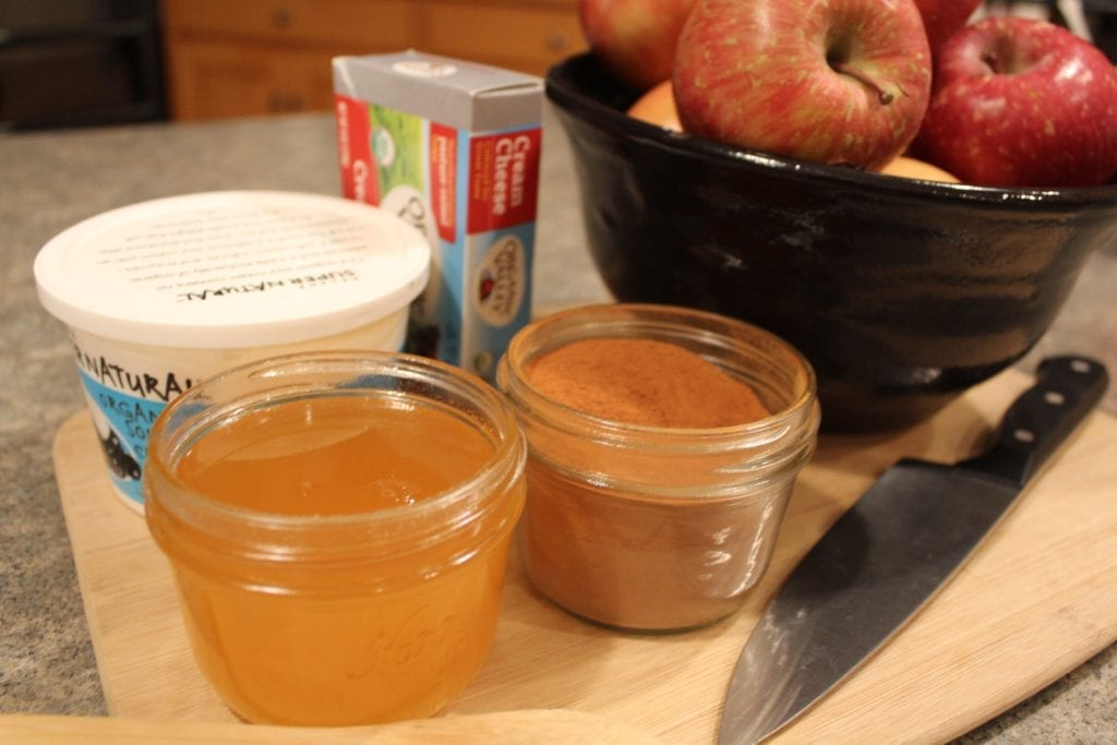 CINNAMON CREAM APPLE DIP