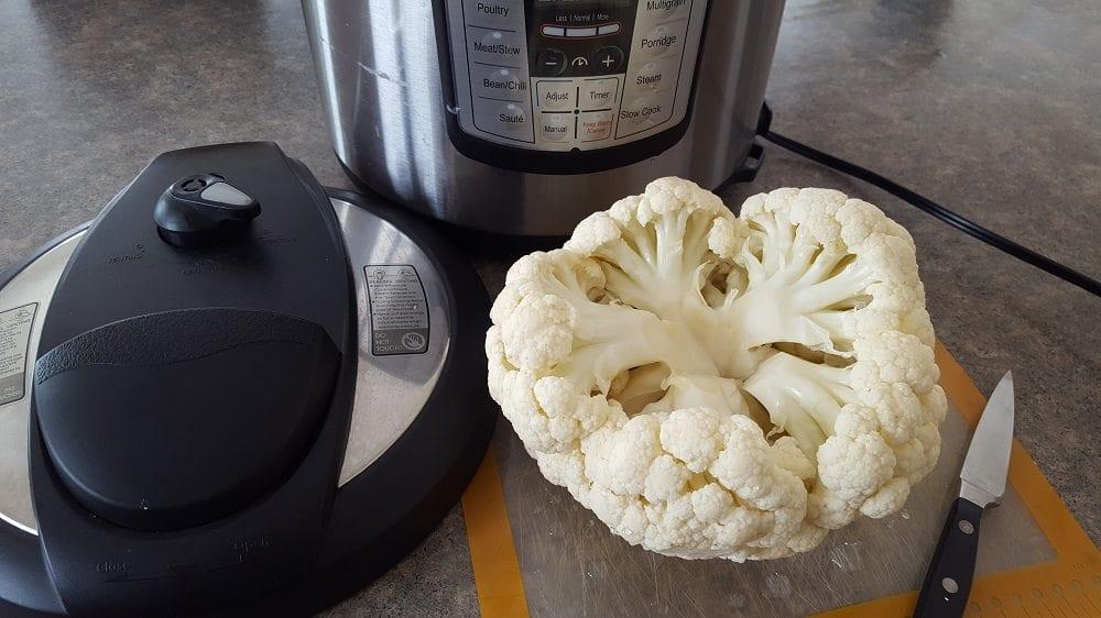 Cauliflower in an Instant pot